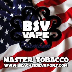 master tobacco vape e liquid