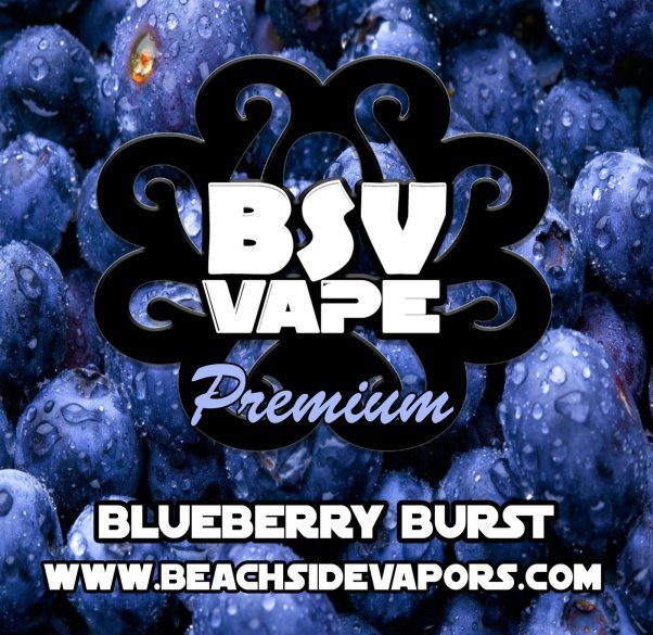 blueberry burst e liquid