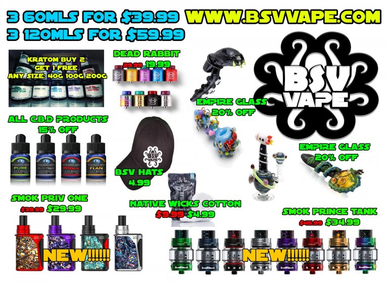 Black Friday Vape Sale Part 2