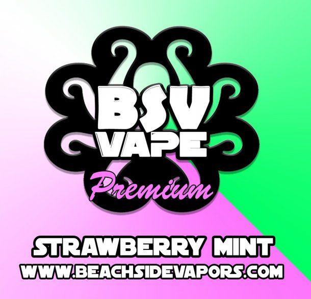 strawberry mint e liquid