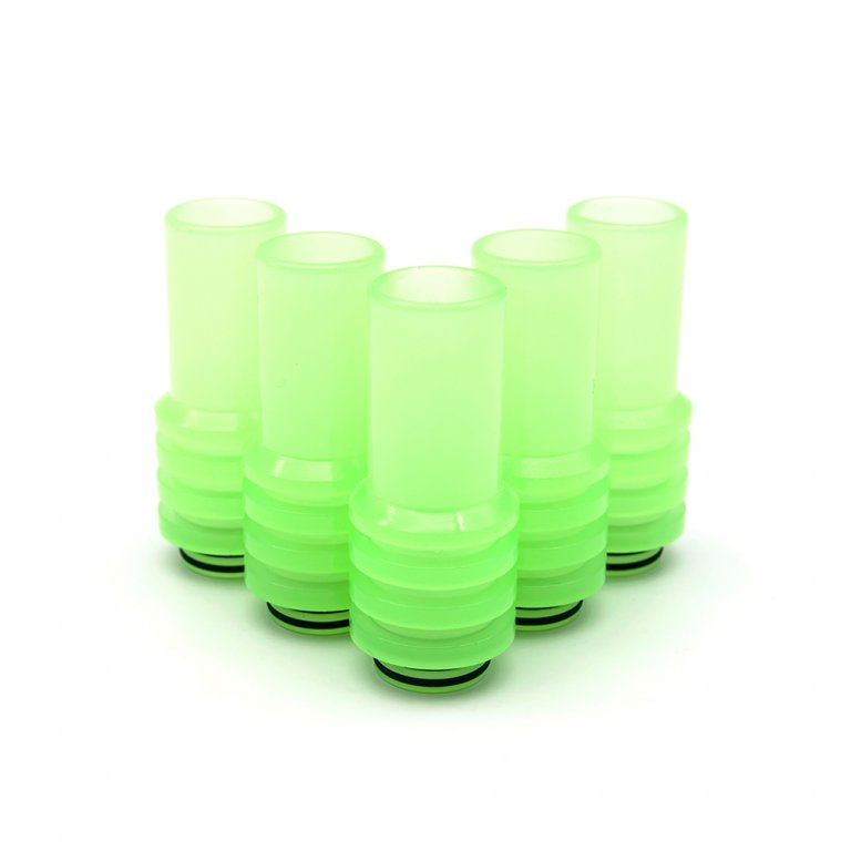Frosted Green UV Sniper Drip Tips