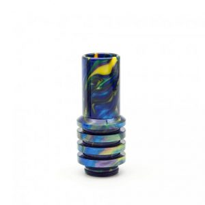 Yellow Purple Blue Sniper Drip Tip Single