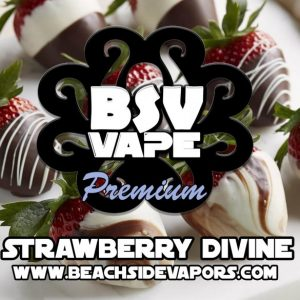 Strawberry Divine White Chocolate E Liquid